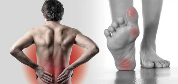 Lower Back Pain and the Feet